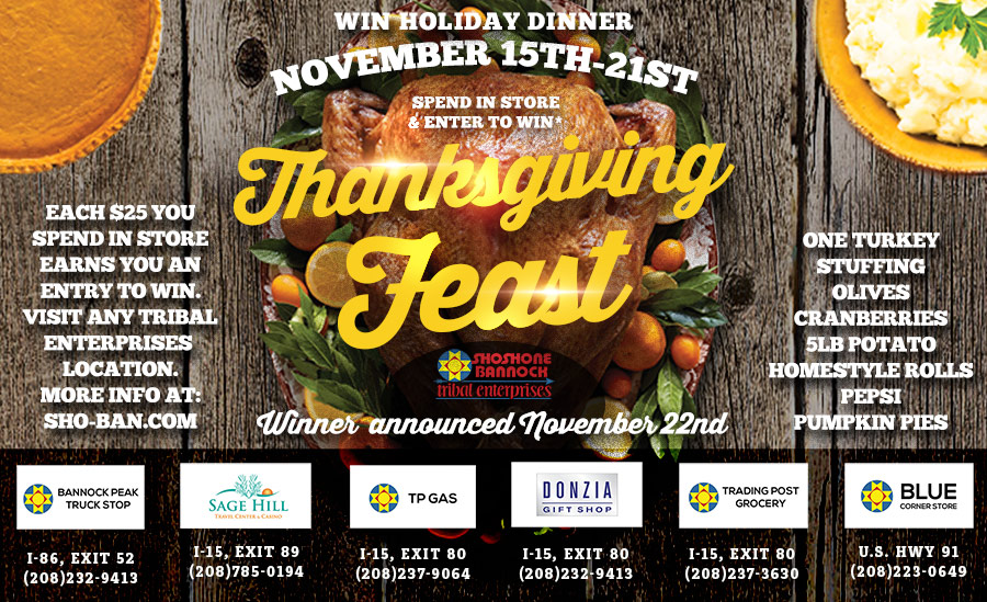 Thanksgiving Feast Giveaway