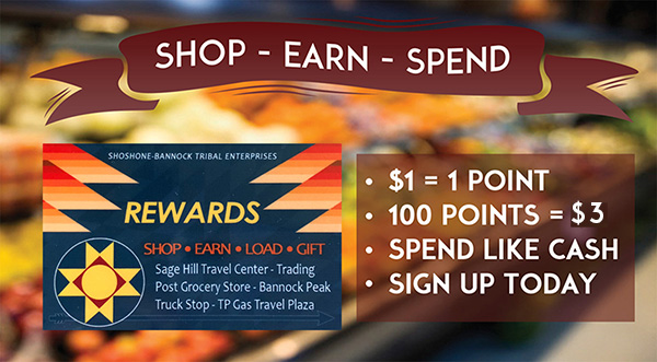 Rewards earn you cash back for every purchase